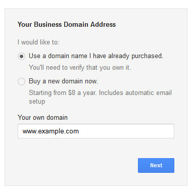 set up email account