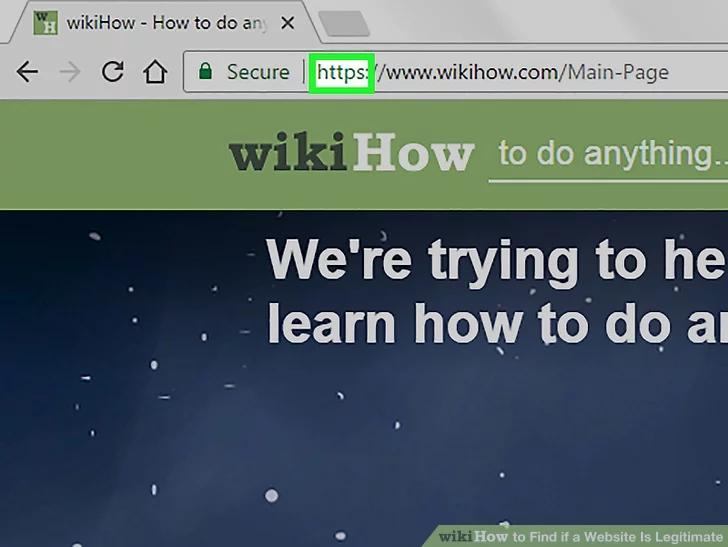 Image titled Find if a Website Is Legitimate Step 2