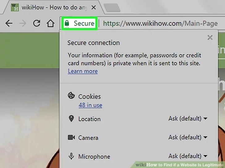 Image titled Find if a Website Is Legitimate Step 3