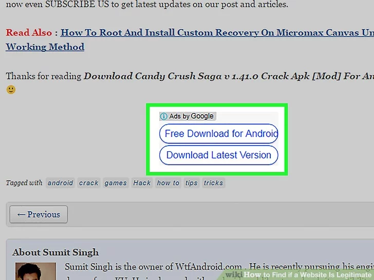 Image titled Find if a Website Is Legitimate Step 6