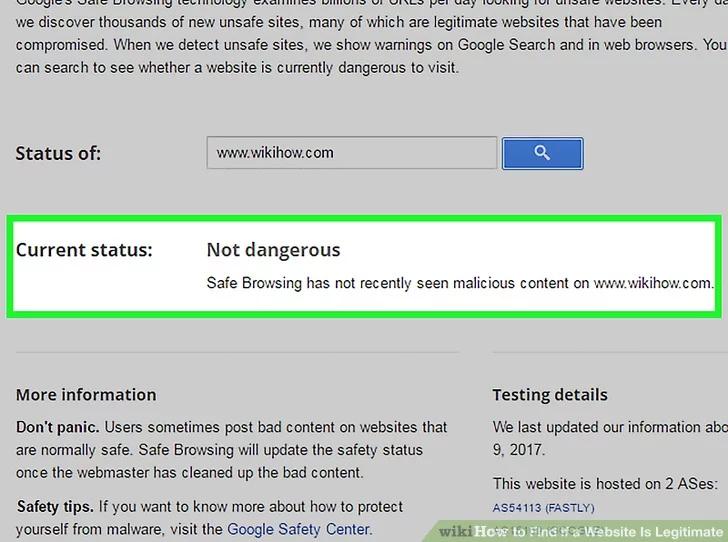 Image titled Find if a Website Is Legitimate Step 12