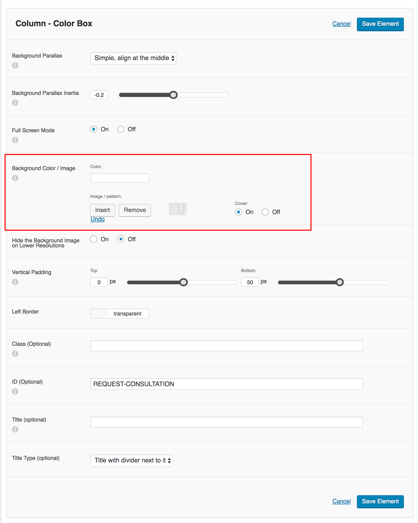 how to change the background image in the get free appointment form