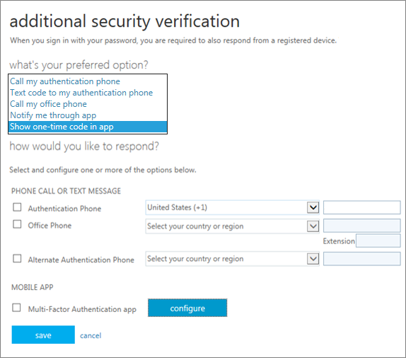 additional security verification page