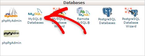 Creating a new MySQL database