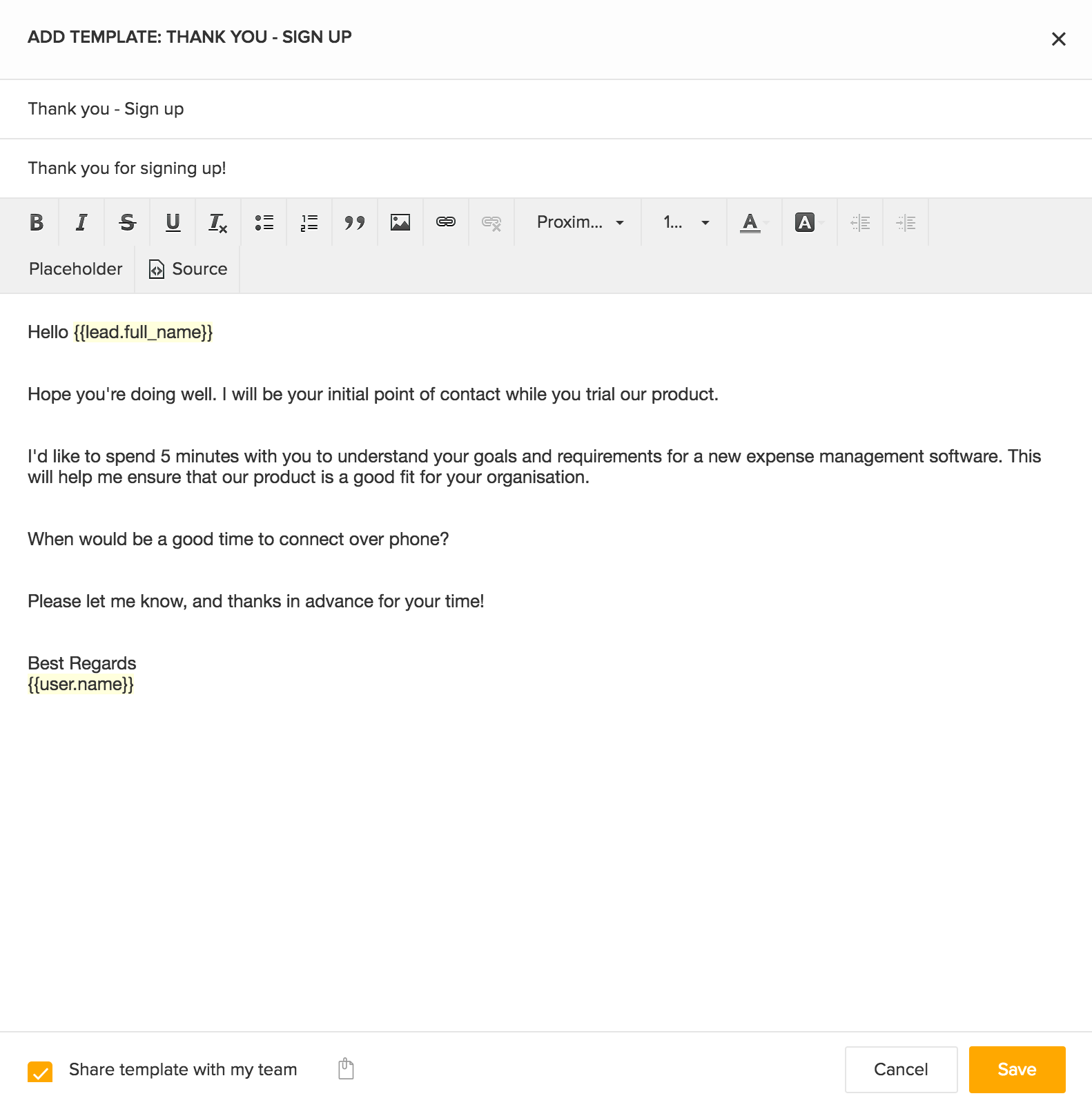 Beautiful You Can Find The Email Templates Under The Templates Drop Down In The  Compose Window. You Can Start Using These Templates While Sending Emails To  Your Leads ... Throughout Point Of Contact Template