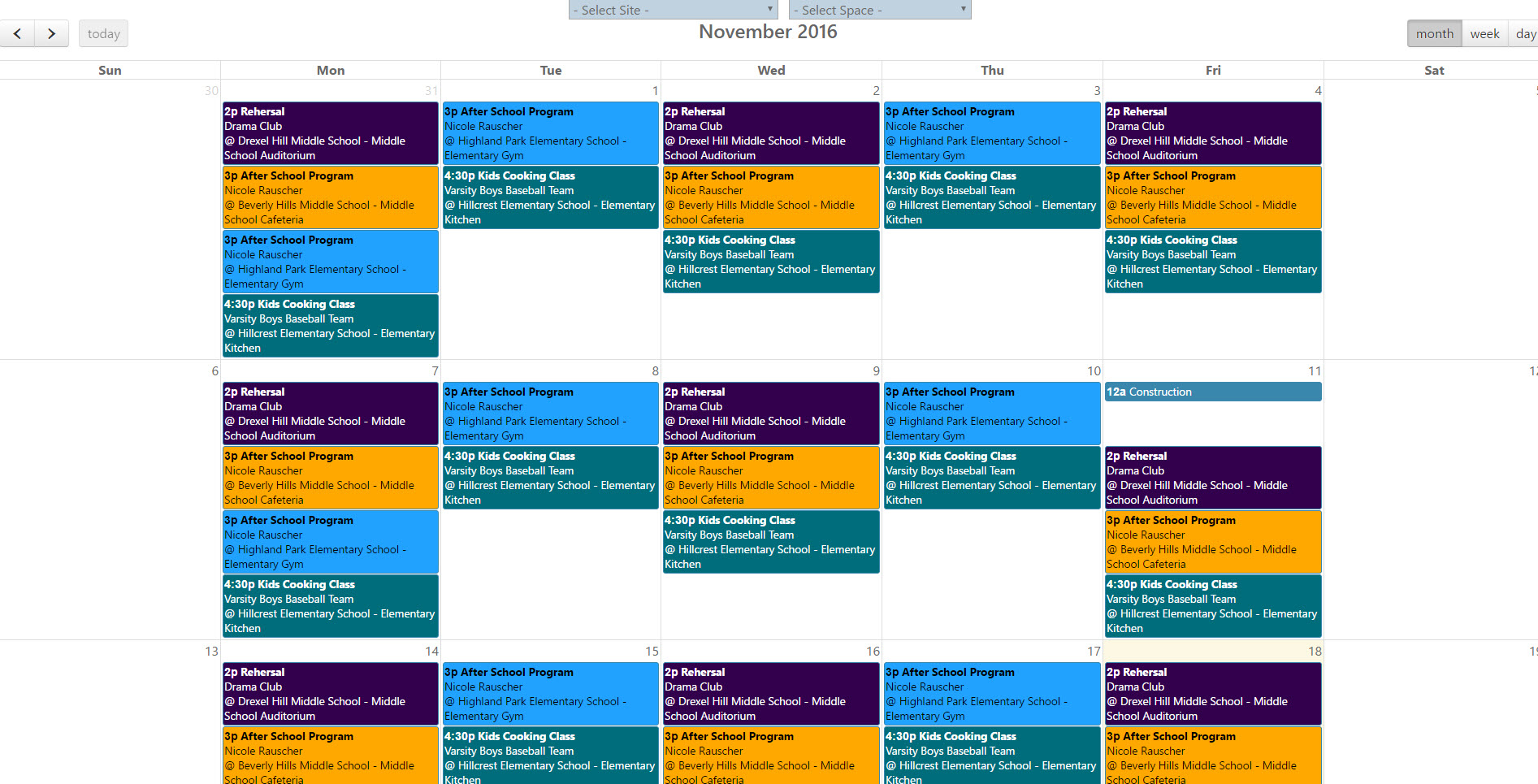 calendar-view