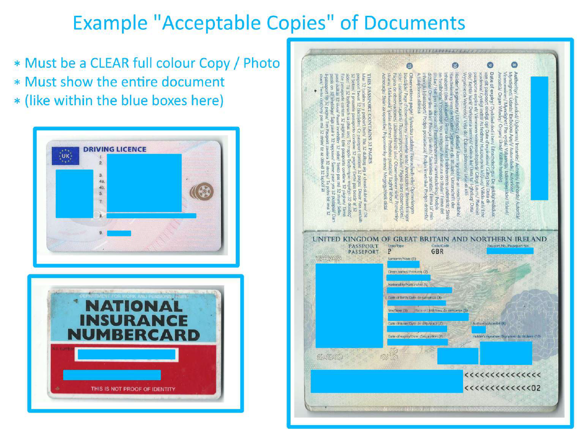 Acceptable Copies Example