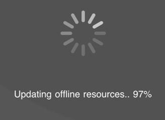 Offline survey tool - uploading offline resources