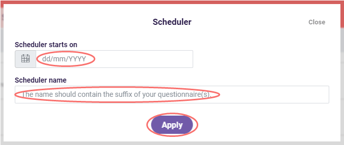 questionnaire scheduler image3