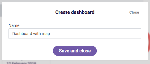 Map widget name new dashboard
