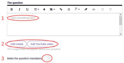 Text slider - edit question