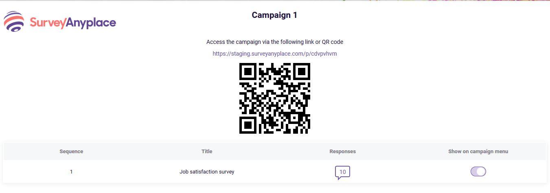 present campaign - screen