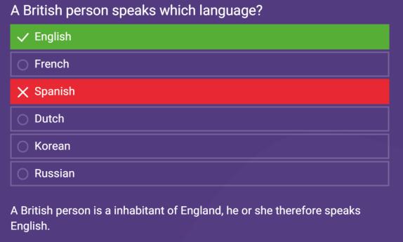 Choix du texte - exemple avec explication de la question