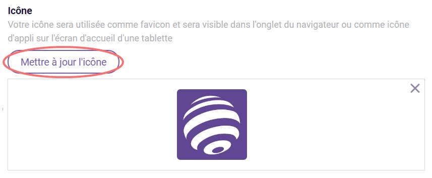 Modifier le design - icone