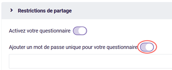 Mot de passe unique