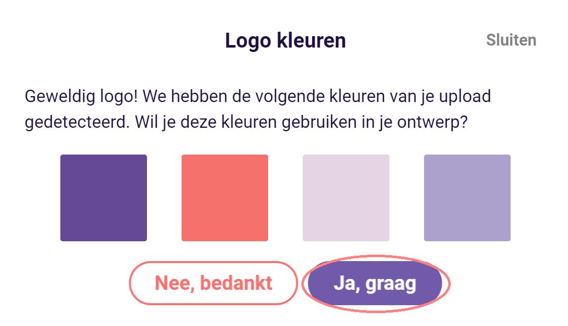Design - logo kleuren