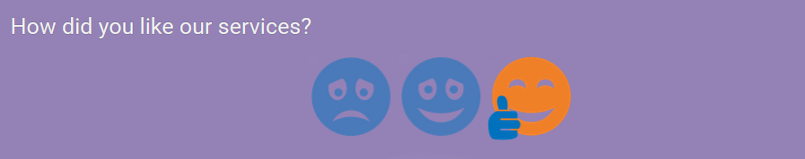 Rating - 3 smileys