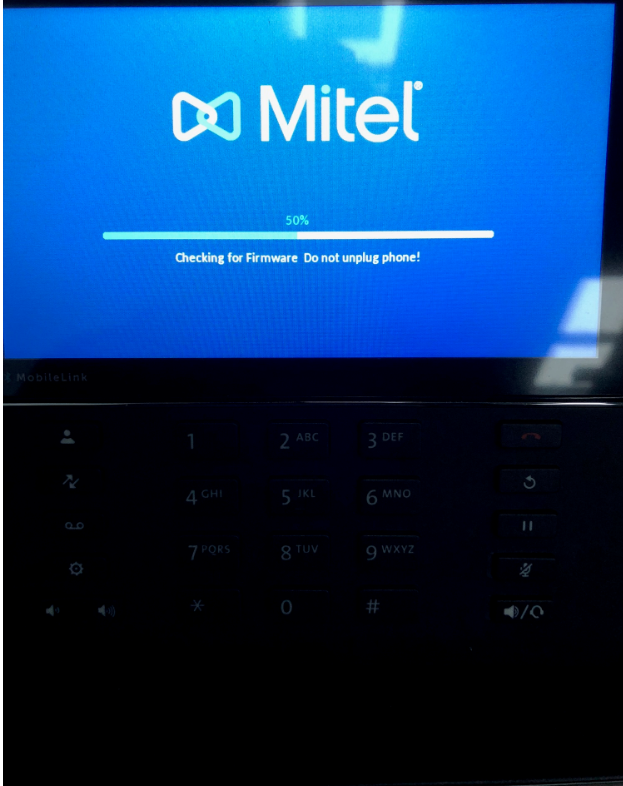 Pointing the 69xx to the Mitel Communication Server : Fusion