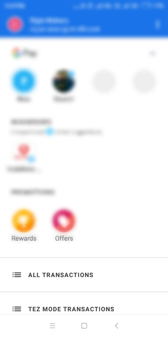 How to find UPI Reference Number for INR Deposits On Google Pay? : Bitbns
