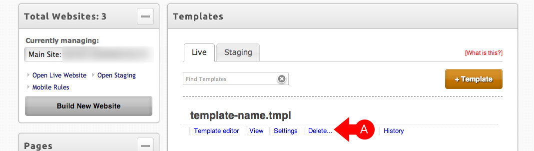 How Do I Delete An Alternative Template? : myRealPage