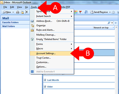 How Do I Set Up Email In Outlook : myRealPage - Support Center