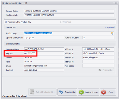 How To Fix 'Invalid length in TIN of Owner' : QNE Software