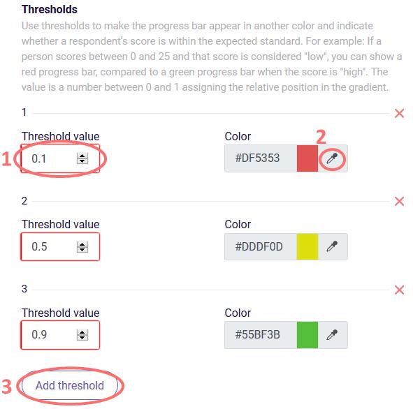 PDF Gauge chart thresholds