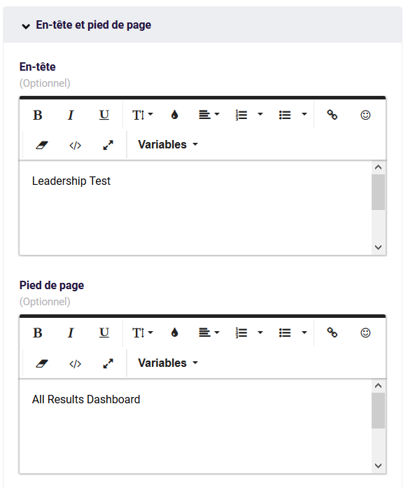 PDF - tete et pied de page