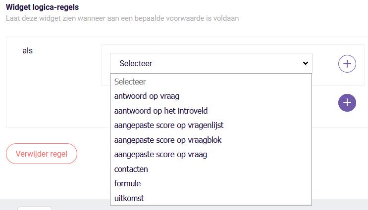 PDF widget regels