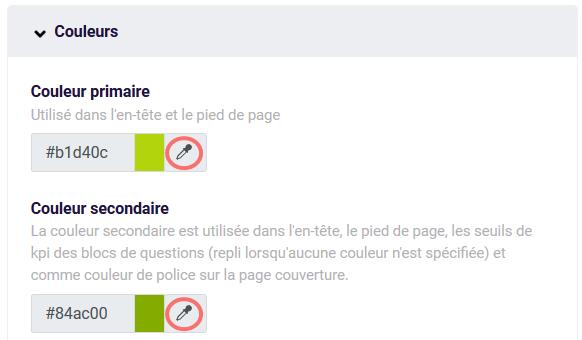 PDF - couleurs
