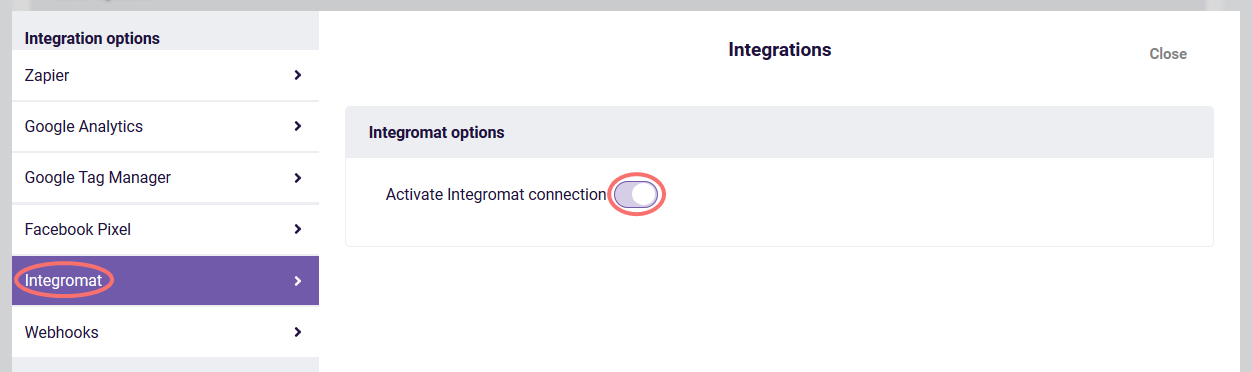 integromat options