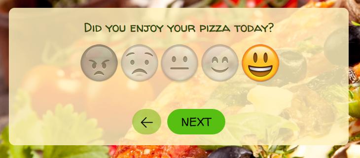 Overzicht vraagtypen emojis