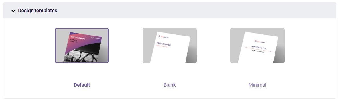 PDF - design templates