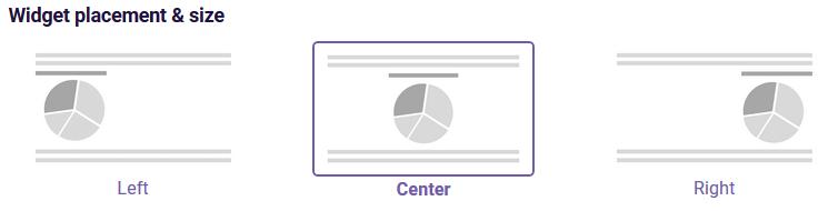 PDF Spiderchart widget placement