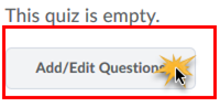 Add/Edit Questions button