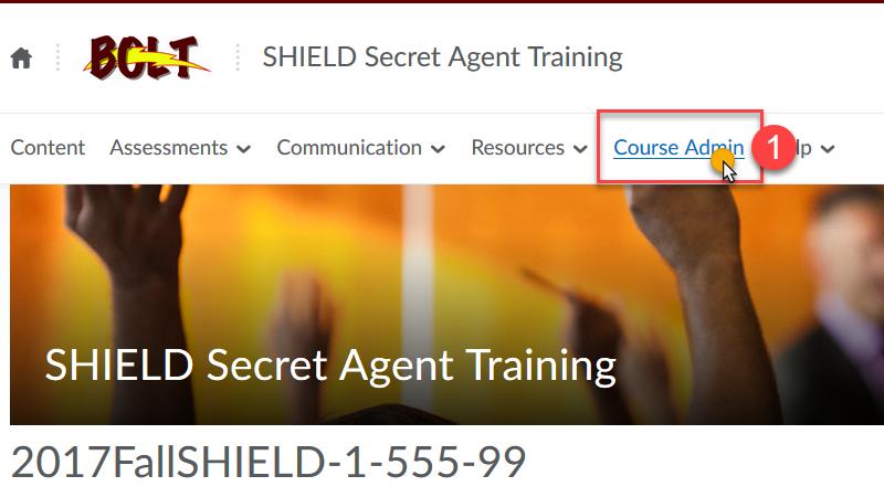 Click Course Admin