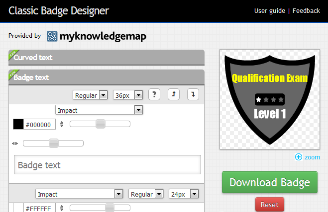 badge designer