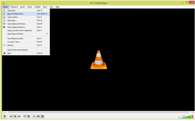 Import Video to VLC