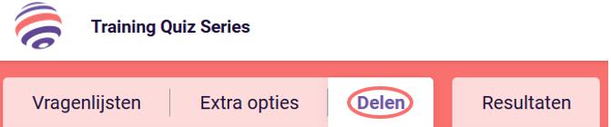 Campagne opties - Delen
