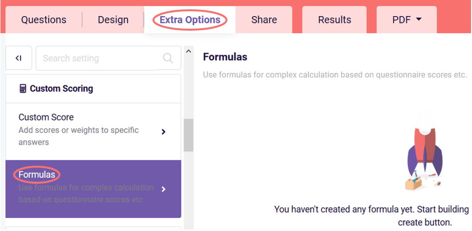 how to create formula example