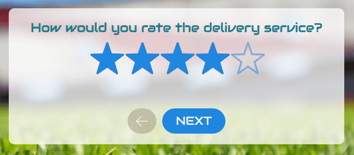 star rating example