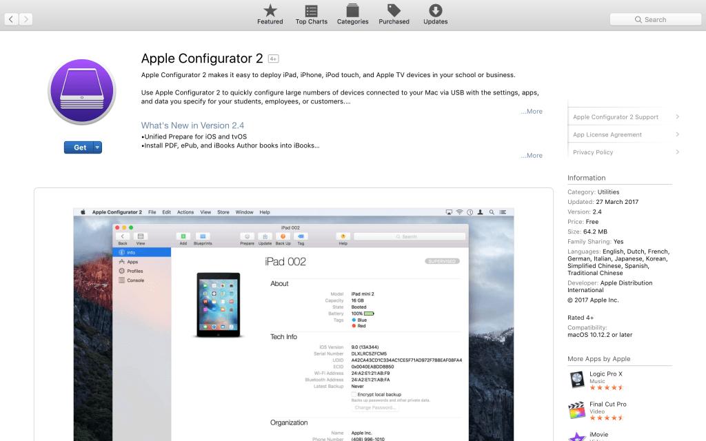 apple configurator image