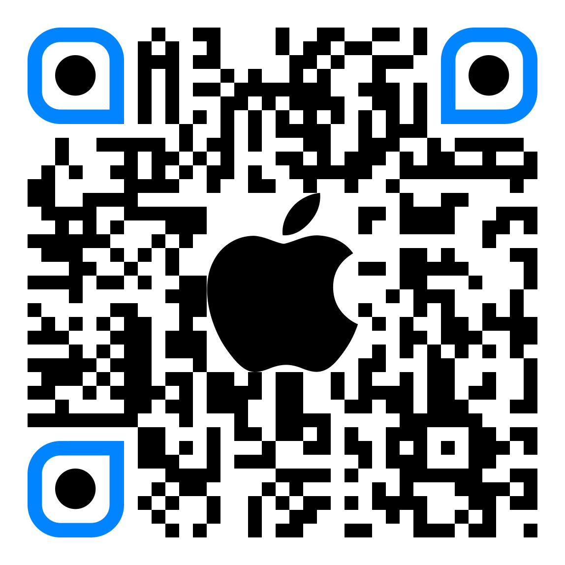 QR code for Zoom on iOS App Store