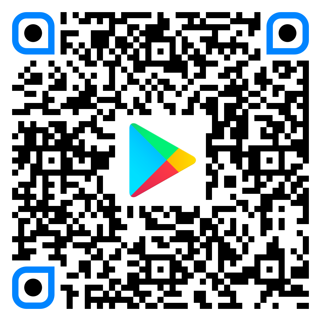 QR code for Zoom on Google Play Store