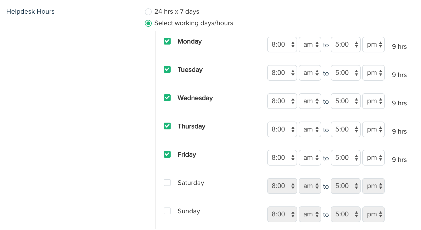 What Are Business Hours And Calendar Hours Freshdesk
