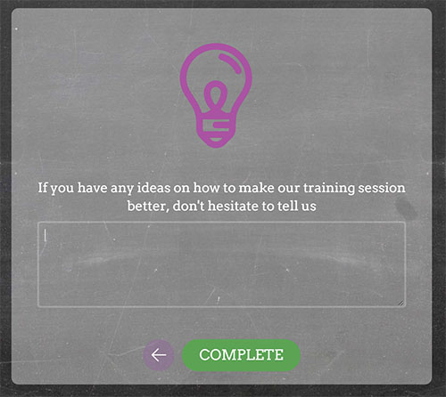 Open ended question example with added image