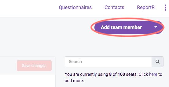 Add team member image