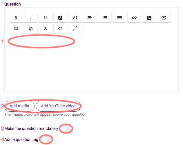 Rating - edit question