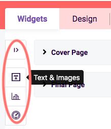 PDF-Add widget
