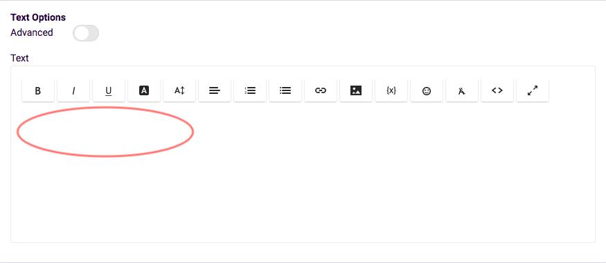 PDF Text widget